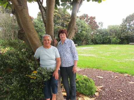 PAEPAE IN THE PARK: Organisers Minnie Broughton, left, and Elaine Powell.