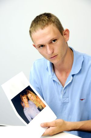 Brad Hall pays tribute to his younger brother Chris who was killed in a crash near Wandoan at the weekend.
