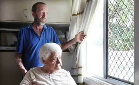 Steve Bean and Margaret Perry are both undergoing dialysis and rely on patient transfer service. Due to funding cuts this service is no longer available. lPhoto: Inga Williams / The Reporter