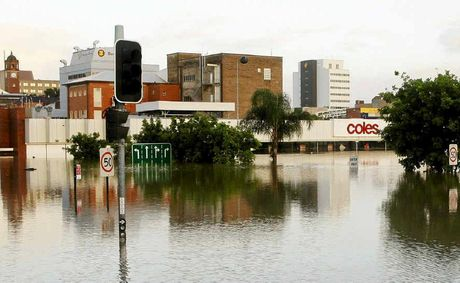 NEW IDEA NEEDED: Ipswich was hit by rising flood waters but a levee is not viable.