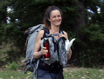 LONG HAUL: Annie Chapman is following the Te Araroa trail.