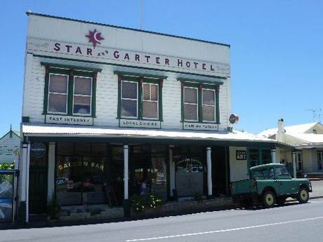 QUAINT: Coromandel Town boasts a collection of period buildings.
