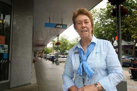 GOLDEN ERA: ANZ Bank customer services officer Cherie Hawkins is still going strong after 50 years on the job.