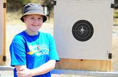 Zara Lahey, 13, enjoying a SUNfest activity at the Gladstone District Pistol Club.