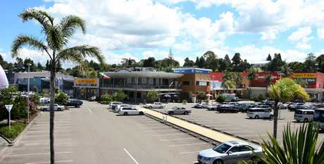 A woman was hit by an empty car which rolled backwards from it's parking spot at Fraser Cover Shopping Centre. File image.