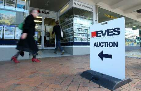 Eves real estate central Tauranga office.