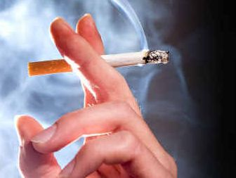 Quitting smoking is a popular New Year's resolution.