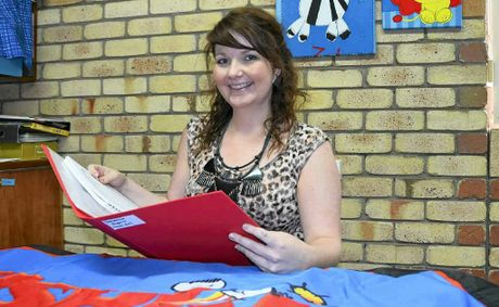 Emily Hetherington is heading to Mt Isa to continue her speech therapy career at the BUSHkids centre.