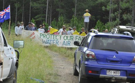 Metgasco admits to the ASX that protests have delayed its operations.