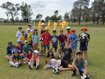 Warwick Wolves Junior Football and Sports Program at Queens Park