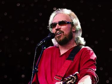 STAR APPEARANCE: Barry Gibb is one of the international performers playing this year.