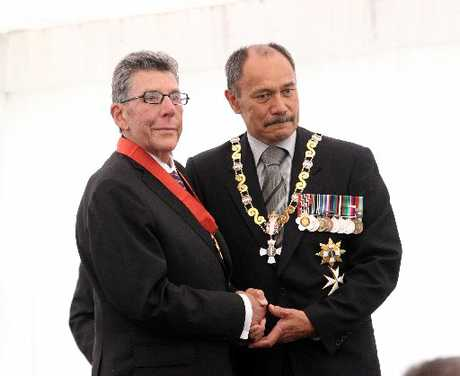 Sir Paul at his investiture last week.
