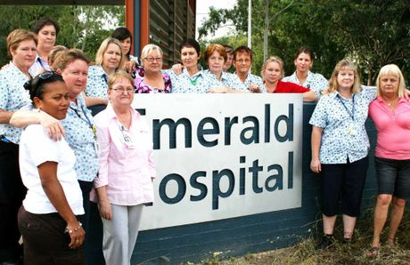 RELEVANT OR REDUNDANT? Nurses at Emerald Hospital during the height of the payroll debacle in 2010 are now being challenged to apply for voluntary redundancies, as are other Queensland Health employees in the central health district.