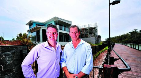 The latest stage of the Sunshine Cove residential development at Maroochydore. Photo: Erle Levey