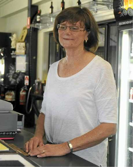 REPAYING THE FAVOUR: Murphys Creek Tavern manager Sue Haughey said the community should repay the residents of the Tasmania for their support during the floods.