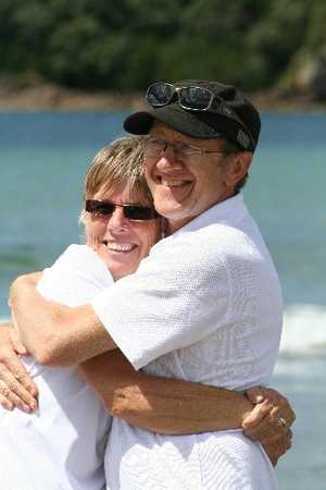Grace and Brian Johnston who both died in a bus crash in Kenya. 