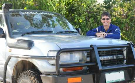 Martin Thomas has organised the Boyne Beach scrub project with the Gladstone 4WD Club.