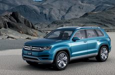 The CrossBlue concept SUV is just one of many new SUVs for VW in the coming years.