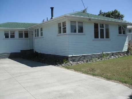 FOR REMOVAL: The Waiouru housing stock has been averaging $31,500.