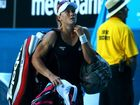 LEADING Aussie player Sam Stosur has been unable to repeat her Fed Cup heroics, beaten 6-4 6-4 in the first round of the Grand Prix tournament in Stuttgart. 