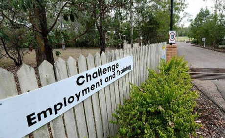 TRAINING GROUND: Challenge Employment's site at Collingwood Park.