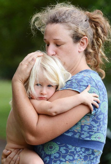 Dunoon resident Johanna Voegele reunited with her daughter Minowa Worthington, 2, after she was reported missing and found by police following an intense search.