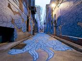 PUBLIC art is giving one of Australia's most cosmopolitan cities some added zing.