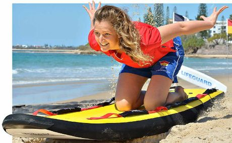 Jupiter's Summer Surf Girl Natalie Parker is raising awareness about the surf to keep our beaches safe.