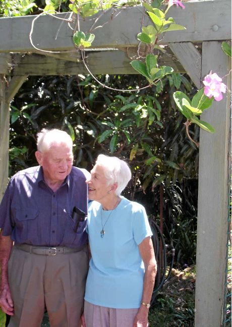 HAPPY COUPLE: John and Ronne Wildman celebrate 60 years of marriage.