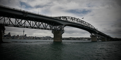The man was found in the water near the harbour bridge on Saturday.