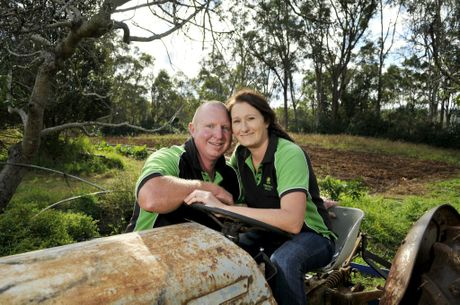 Kylie and Darrin Pateman of Homegrown Health