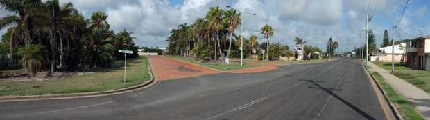 ABOUT TIME: The brickwork at the entrance to Bargara Lakes Drive will be removed. Photo: Mike Knott / NewsMail