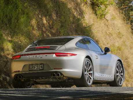 The Carrera 4S is forgiving on even our most curly roads, especially with its new ultra-wide rear end.