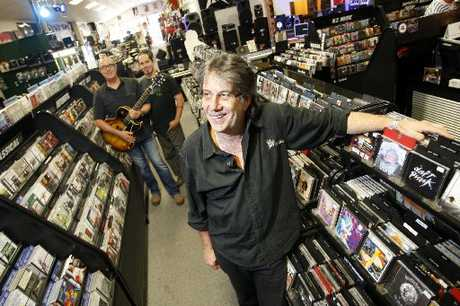 SWAN SONG: Dave Ryan is closing Musicor after almost half a century satiating the fickle tastes of the region's music fans.