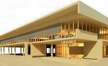 Artist's impression of the new Grafton Library.