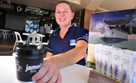 Michelle Lucadou-Wells is the new franchisee of Jamaica Blue on Mooloolaba Esplanade, enjoying a sea change from Sydney having worked at the chain&#39;s corporate head office for three years.