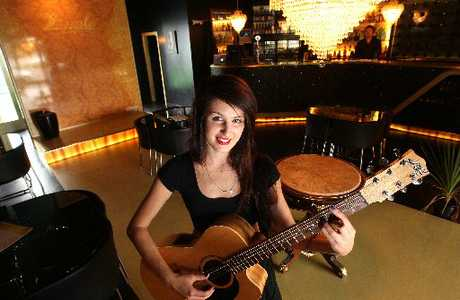 Rotorua's Alayna Powley was the first local act to entertain guests at Rotorua's Royale Lounge.