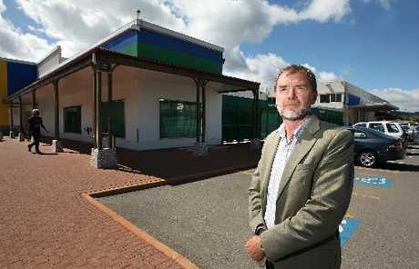 DEVELOPMENT: Peter Faulkner says negotiations are under way with two major retailers.