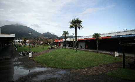 TOWN: The Kawerau town centre.