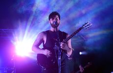 Foals perform at the Green Stage.