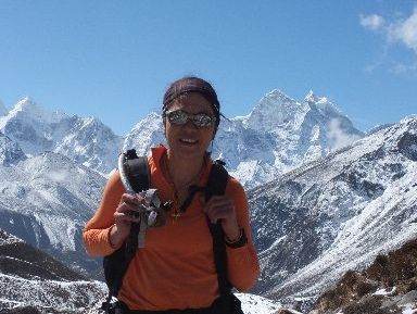 TOP CLIMBER: Te Arawa climber Annie Doyle reached the peak of Antarctica's Mt Vinson on Friday. She is pictured here during her failed attempt to climb Mt Everest last year.