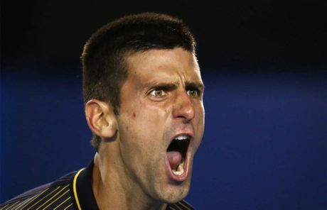 Novak Djokovic survived a five hour thriller to advance in the Australian Open. GETTY IMAGES