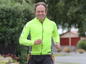 ENDURANCE TEST: City councillor Glenn Livingstone is trading in his usual work attire to prepare for his fourth attempt at the Speights Coast to Coast.