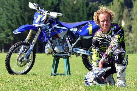 Mokau's Adrian Smith (Yamaha) has a tough task ahead to defend his national crown this year.