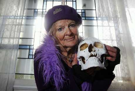 SERVICE: Napier woman Anna Hoffmann says she has the skull of executed Australian outlaw Ned Kelly.