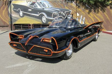 The Batmobile from the 1960's TV series.