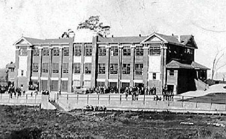 IMPRESSIVE: Murwillumbah High School was completed in 1929 by A F Webb.