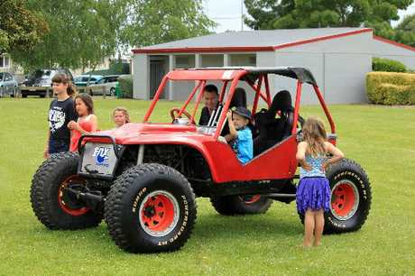 The kids loved the competition 4WD offroader.