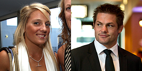 Tauranga's Gemma Flynn is reportedly dating All Black captain Richie McCaw.