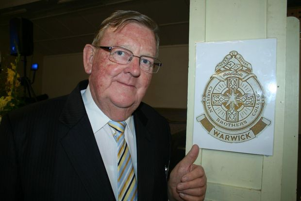 PAST STUDENT: Federal Member for Hinkler Paul Neville at the St Joseph's Christian Brothers College Reunion in Warwick. Photo Gerard Walsh / Warwick Daily News